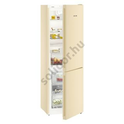 Liebherr CNbe4313 Comfort NoFrost alulfagyasztós hűtő bézs A++ 209/95L 186x60x66cm