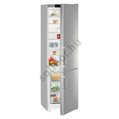Liebherr CNef4015 Comfort NoFrost A++ alulfagyasztós hűtő nemesacél 269/87L 201x60x63cm