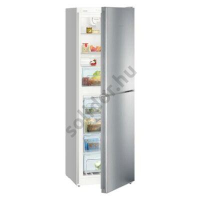 Liebherr CNel4213 Comfort NoFrost alulfagyasztós hűtő nemesacél A++ 165/129L 186x60x66cm