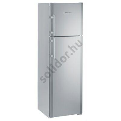 Liebherr CTNesf3663 Premium NoFrost A++ 246/60L felülfagyasztós nemesacél hűtő 191x60x63cm