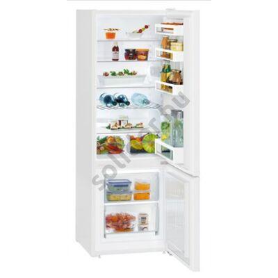 """Liebherr CU281 Comfort  ,,F""""  212/53L alulfagyasztós hűtőszekrény fehér 161x55x63cm"""