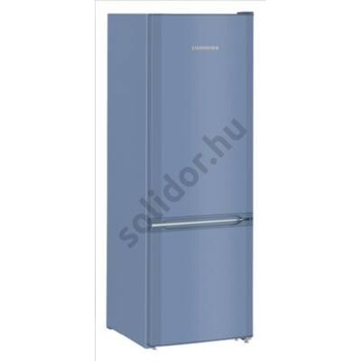 """Liebherr CUfb2831 Comfort ,,F"""" 212/53L alulfagyasztós hűtőszekrény kék 161x55x63cm"""