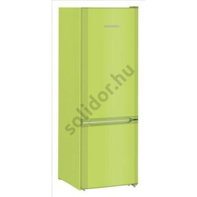 """Liebherr CUkw2831 Comfort ,,F"""" 212/53L alulfagyasztós hűtőszekrény kiwizöld 161x55x63cm"""