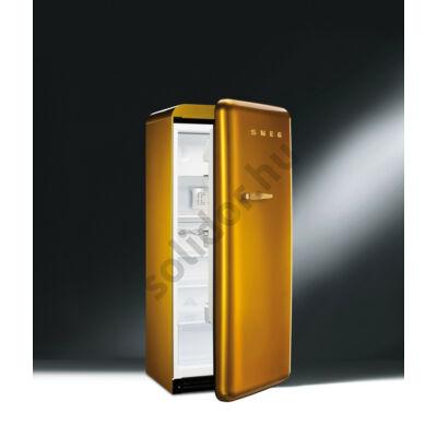 Smeg FAB28RDG arany, retro design, egyajtós hűtő fagyasztóval