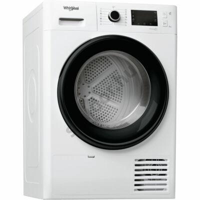 Whirlpool FT M22 8X3B EU hőszivattyús szárítógép A+++ 8 kg fekete ajtó fekete kerettel