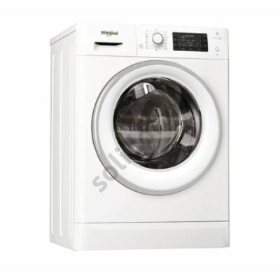 Whirlpool FWSD81283WCVEU keskeny előltöltős mosógép A+++ 8kg 1200f/p Sense Inverter motor szöveges LCD kijelző 84x60x47,5 cm