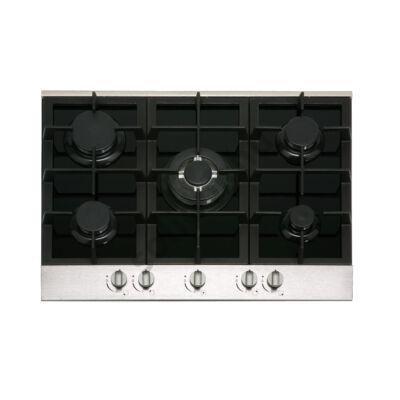 Nodor by Cata GCI57 Black gázfőzőlap beépíthető 90cm fekete üveg felület