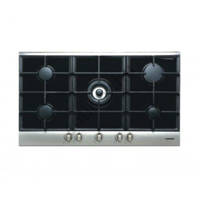 Nodor by Cata GCI59 gázfőzőlap beépíthető 90cm fekete üveg felület