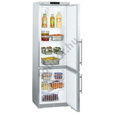 Liebherr GCv 4060 ProfiLine ipari kombinált hűtő nemesacél  240/105L 200x60x67cm