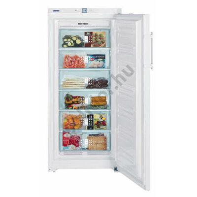 Liebherr GNP3166 Premium NoFrost A+++ 253L fehér fagyasztószekrény 156x70x75cm