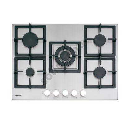 Nodor by Cata GXS417 beépíthető gázfőzőlap 70cm inox felület