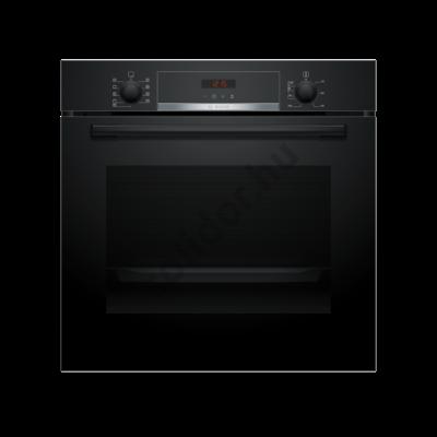 Bosch HBA573EB0 Serie 4 beépíthető sütő fekete pirolitikus öntisztítás 1-szintű teleszkópos sütősín AutoPilot10