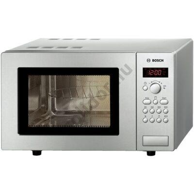 Bosch HMT75G451 mikrohullámú sütő nemesacél 17L grilles digitális óra