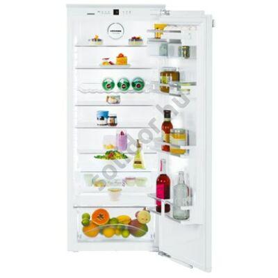 Liebherr IK2760 Premium A++ 251L egyajtós beépíthető hűtő 139 cm magas