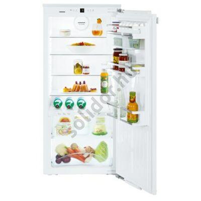 Liebherr IKBP2360 Premium BioFresh A+++ 137/59L beépíthető egyajtós hűtőszekrény 122cm magas