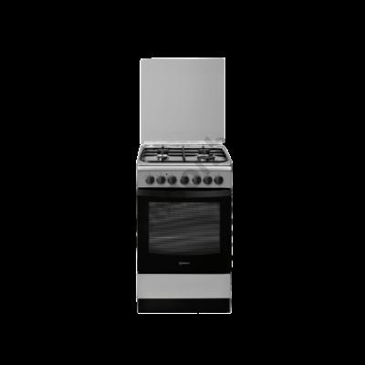 Indesit IS5G5PHX/E kombinált tűzhely inox 50x60cm
