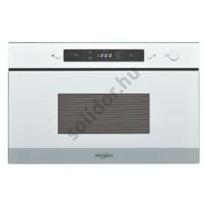 Whirlpool AMW4920WH beépíthető mikrohullámú sütő fehér 38cm 22L grill funkció