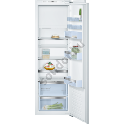 Bosch KIL82AFF0 Serie6 hűtő egyajtós belső fagyasztóval beépíthető A++ 152/34L 178x56x55cm