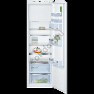 Bosch KIL82AFF0 Serie6 hűtő egyajtós belső fagyasztóval beépíthető 152/34L 178x56x55cm
