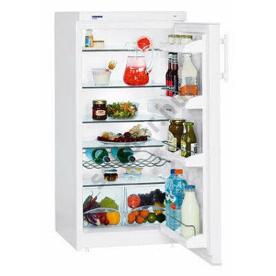 Liebherr K2330 Comfort A+ 213L egyajtós hűtő fehér 117,5x55x62,9cm