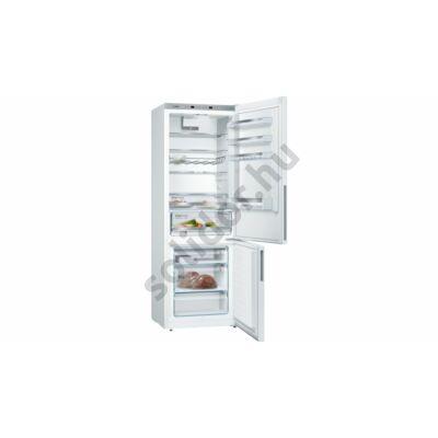 Bosch KGE49VW4A Serie 4 A+++ 302/111L alulfagyasztós fehér hűtő 201x70x65cm