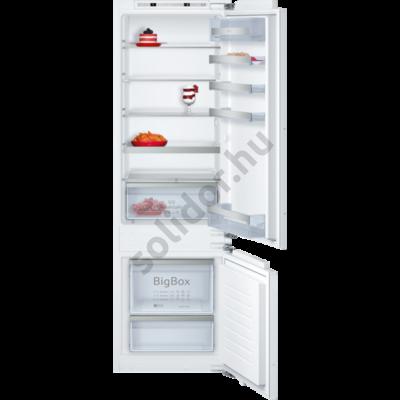 Neff KI6876F30 beépíthető alulfagyasztós hűtő Fresh Safe 2 A++ 209+61L 177cm