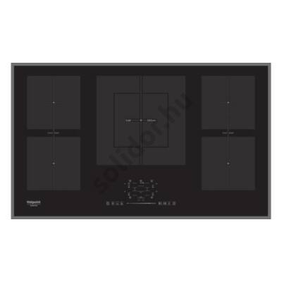 Hotpoint-Ariston KIF952BXLDB indukciós kerámia főzőlap 86cm fekete
