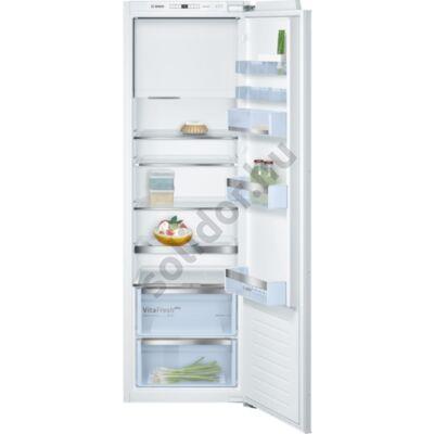Bosch KIL82AF30 Serie 6 hűtő egyajtós beépíthető VitaFresh plus VarioZone A++ 252/34L 178x56x55cm