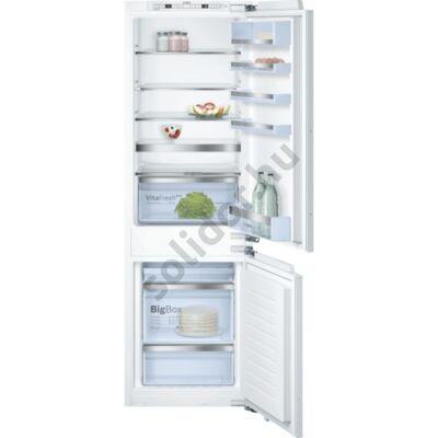 Bosch KIN86AF30 Serie 6  hűtő alulfagyasztós beépíthető NoFrost VitaFresh plus  A++ 188+67L 178cm