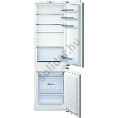 Bosch KIN86VF30 Serie 4 beépíthető kombinált hűtő NoFrost A++ 188+67L 177cm