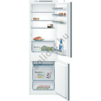 Bosch KIV86VS30 Serie 4 beépíthető alulfagyasztós hűtő 177cm A++ 191+76L