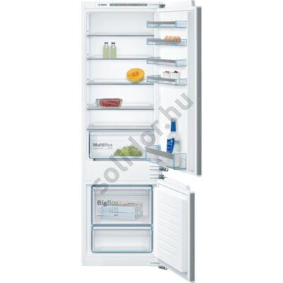 Bosch KIV87VF30 Serie 4 beépíthető alulfagyasztós hűtő 177cm A++ 209+63L
