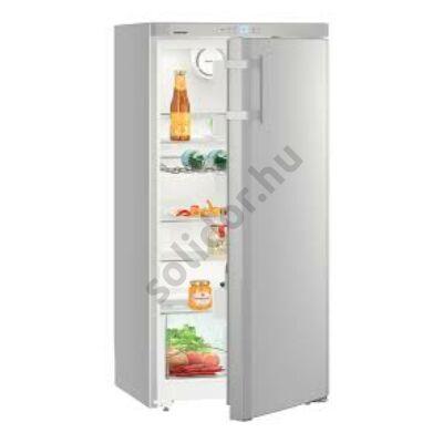Liebherr Ksl2630 Comfort egyajtós hűtő ezüst 125x60x63cm