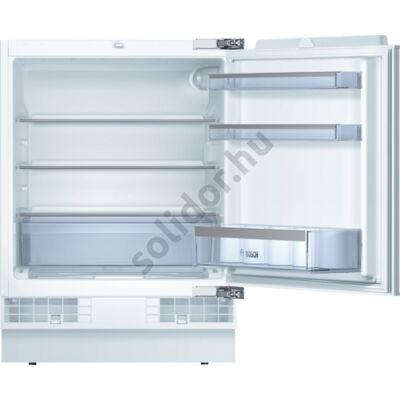 Bosch KUR15A65 Serie 6 hűtő pult alá építhető A++ 137L 82x60x55cm
