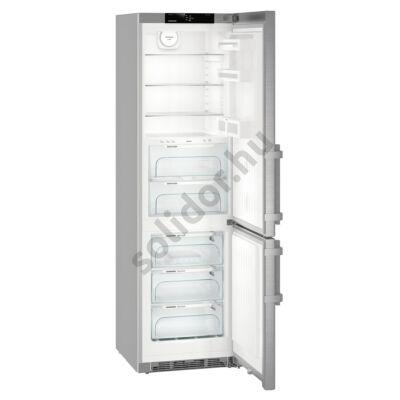 Liebherr CBNef4835 Comfort BioFresh NoFrost BLUPerformance alulfagyasztós hűtő nemesacél A+++ 242/101L 201x60x67cm