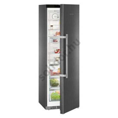 "Liebherr KBbs4370 Premium BioFresh egyajtós hűtő BlackSteel ,,C""  367L 185x60x67cm BluPerformance"