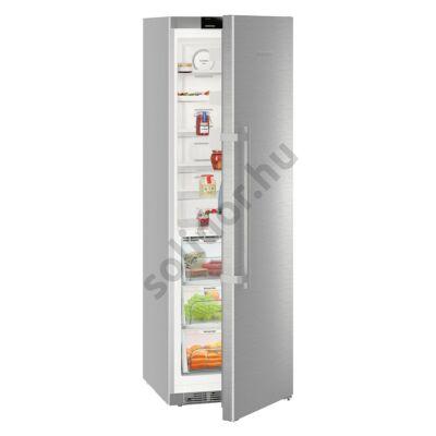 """Liebherr KBef4330 Comfort BioFresh BLUPerformance egyajtós hűtő nemesacél ,,D""""  366L 185x60x67cm"""