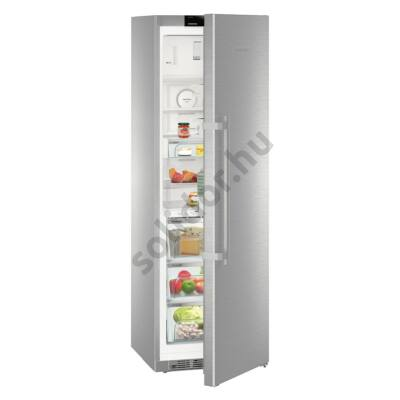 """Liebherr KBes4374 Premium BioFresh egyajtós hűtő nemesacél ,,C"""" 314/24L 185x60x67cm BluPerformance"""