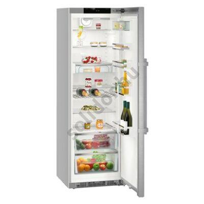 """Liebherr Kef4370 Premium egyajtós hűtő nemesacél ,,C"""" 390L 185x60x67cm BluPerformance"""