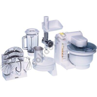 Bosch MUM4655EU konyhai robotgép  550W 3,9L fehér húsdaráló mixer szeletelő készlet