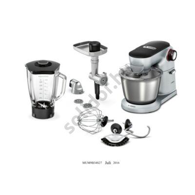 Bosch MUM9B34S27 OptiMUM Univerzális konyhai robotgép húsdaráló feltéttel 1400W 5,5L