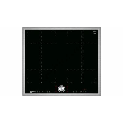 Neff T46BT73N2 Combi indukciós főzőlap 60 cm TwistPad® Fire vezérlés nemesacél keret