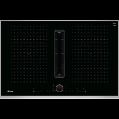 Neff T58TL6EN2 N90 indukciós főzőlap beépített elszívóval 2. generáció 80 cm Flex Induction TwistPad® Fire vezérlés Neff Collection