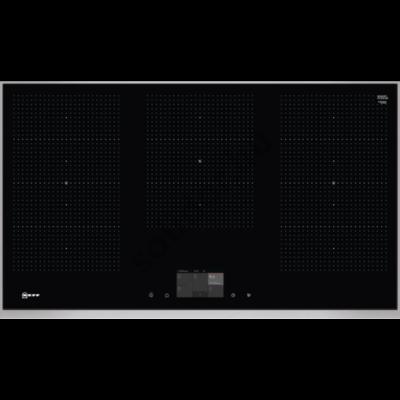 Neff T59TF6RN0 N90 indukciós főzőlap 90 cm 3 Flex Induction acél keret TwistPad® Fire vezérlés Neff Collection