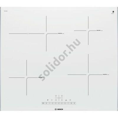 Bosch PIF672FB1E Serie 6 indukciós üvegkerámia főzőlap fehér 60cm 7,2kW