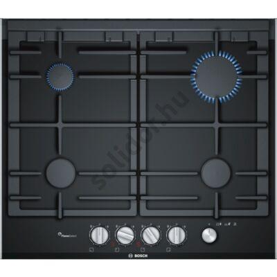 Bosch PRP6A6N70 Serie 8 gázfőzőlap üvegkerámia felületen mosogatógépben mosogatható öntöttvas edénytartók 60cm FlameSelect