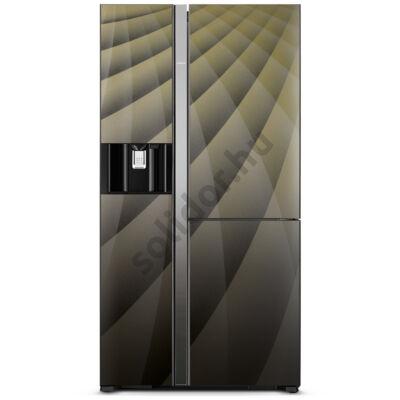 Hitachi M700AGPRU4X.DIA 3 ajtós side by side hűtő A++ 651L Onyx üveg