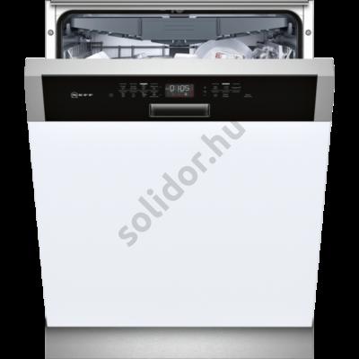 Neff S415M80S1E beépíthető mosogatógép Digitális LED kijelző Flex 2 evőeszköztartó fiók 14 teríték A++
