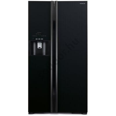 Hitachi S700AGPRU2.GBK  2 ajtós side by side hűtő A++ 589L fekete üveg