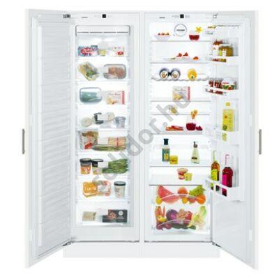 Liebherr SBS6612 Comfort NoFrost beépíthető side by side hűtő A++/A++ 213/325L SIGN 3524 fagyasztó / IK 3520 hűtő